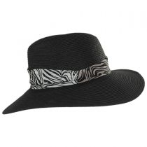 Khumba Toyo Straw Fedora Hat alternate view 3