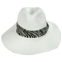 Khumba Toyo Straw Fedora Hat alternate view 6