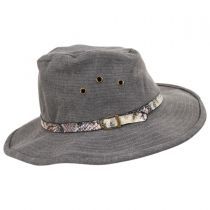 Anaconda Cotton Outback Hat in