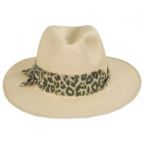 Luca Toyo Straw Fedora Hat in