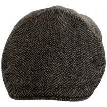 Classic Shetland Wool Herringbone Duckbill Ivy Cap alternate view 6