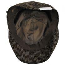 Classic Shetland Wool Herringbone Duckbill Ivy Cap alternate view 16
