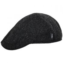 Classic Shetland Wool Herringbone Duckbill Ivy Cap in