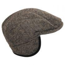 Classic Shetland Earflap Wool Ivy Cap alternate view 29