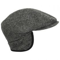 Classic Shetland Earflap Wool Ivy Cap alternate view 34