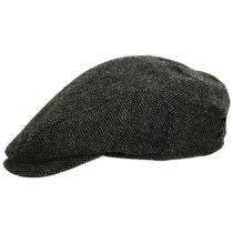 Donegal Dark Gray Shetland Earflap Wool Ivy Cap alternate view 3