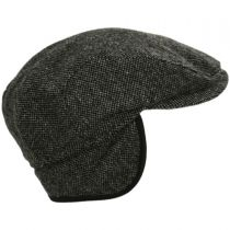 Donegal Shetland Earflap Wool Ivy Cap alternate view 9
