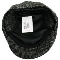 Donegal Dark Gray Shetland Earflap Wool Ivy Cap alternate view 5