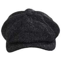 Classic Shetland Wool Herringbone Newsboy Cap alternate view 34