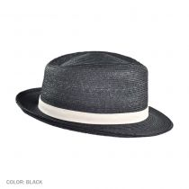 George Straw Fedora Hat