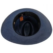 Mikonos Grade 3 Panama Straw Fedora Hat alternate view 4