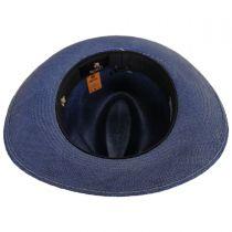 Azul Grade 3 Panama Straw Fedora Hat alternate view 4