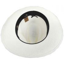 Azul Grade 3 Panama Straw Fedora Hat in