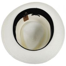 Quickstep Grade 8 Panama Straw Fedora Hat alternate view 16