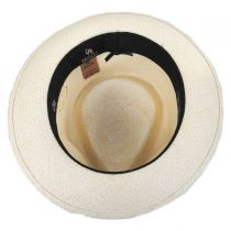 Quickstep Grade 8 Panama Straw Fedora Hat alternate view 12