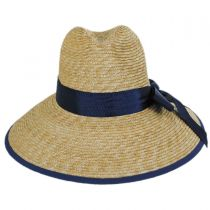 Celine Milan Straw Downbrim Fedora Hat alternate view 6