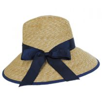 Celine Milan Straw Downbrim Fedora Hat alternate view 7