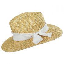 Solange Milan Straw Fedora Hat in
