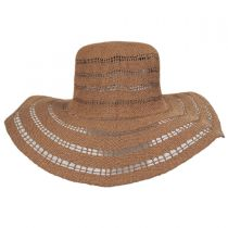 Ventana Toyo Crochet Floppy Straw Sun Hat alternate view 3
