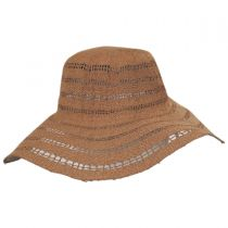 Ventana Toyo Crochet Floppy Straw Sun Hat alternate view 4