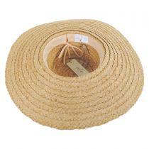 Azteca Raffia Straw Sun Hat in