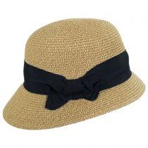 Spectator Toyo Straw Blend Cloche Hat alternate view 3