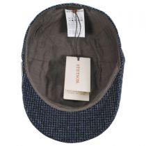 Check Wool Ivy Cap in