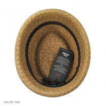 Johnny Straw Fedora Hat in