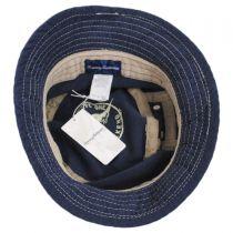 Mollusc Cotton Linen Blend Bucket Hat in