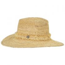 Tonga Raffia Straw Fedora Hat in