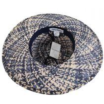 Chiloe Toyo Straw Fedora Hat in