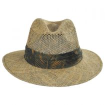 Los Cabos Seagrass Fedora Hat in