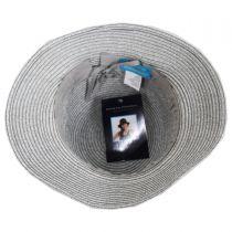 Diamante Toyo Straw Cloche Hat alternate view 4
