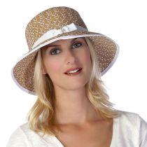 Pitch Perfect Framer Toyo Straw Cloche Hat in