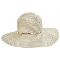 Perdido Straw Blend Facesaver Hat in