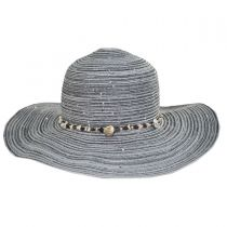 Jensen Straw Blend Facesaver Hat in