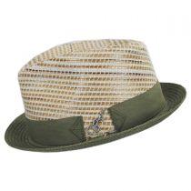 Timbuktu Toyo Straw Blend Fedora Hat in