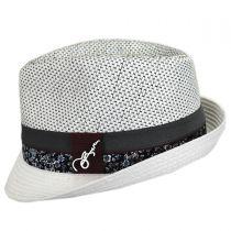 Dorsey Toyo Straw Blend Fedora Hat in