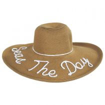 Shoreline Statements Toyo Straw Blend Swinger Hat alternate view 2