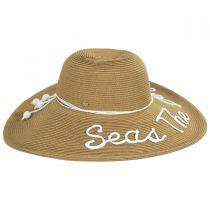 Shoreline Statements Toyo Straw Blend Swinger Hat alternate view 3