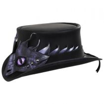 Drakaina Leather Top Hat in