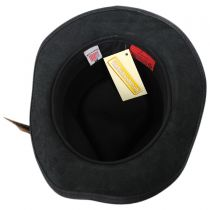 Sparrow Leather and Wool Felt Riding Hat in