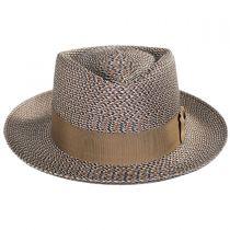 Daddy-O Milan Straw Fedora Hat in
