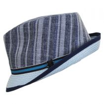 Inglewood Toyo Straw Blend Fedora Hat in