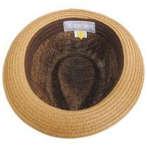 New York Toyo Straw Blend Fedora Hat in