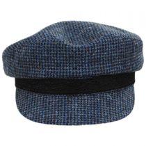 Check Wool Fiddler Cap alternate view 2