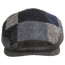 Patchwork Wool Blend Ivy Cap in