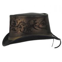 Heretic Leather Top Hat alternate view 3