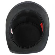 True Grit Leather Top Hat in