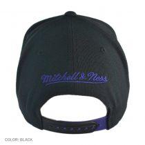Los Angeles Lakers NBA Blackout Snapback Baseball Cap
